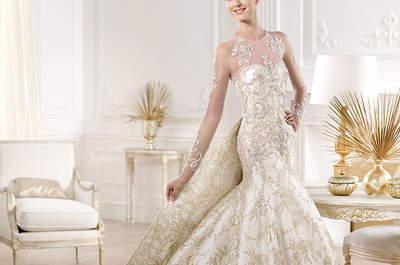 Robes de mariée à manches longues 2014 par des créateurs espagnols