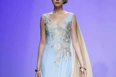 Vestidos de fiesta Matilde Cano 2016: mitología griega y moda