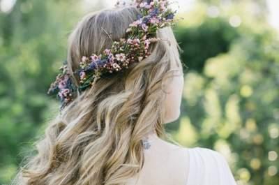 Свадебные венки из цветов 2017. Внесите изюминку в образ!