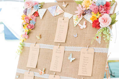 Vlinder decoratie: 41 geweldige ideeën die je wilt hebben op jouw bruiloft