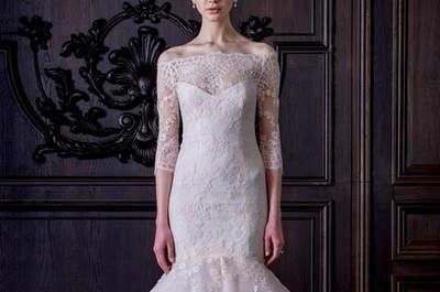 Vestidos de noiva Monique Lhuillier 2016: a essência da beleza e bom gosto