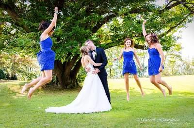 5 consigli alle testimoni della sposa (da parte di una futura sposa: chi meglio di lei?)