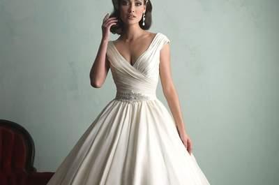 Allure Bridals 2015: Elegant & Glamorous Wedding Dresses