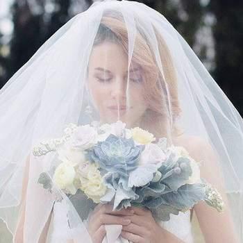Лучшие свадебные прически с фатой 2017. Создайте элегантный и неповторимый образ!