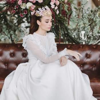 Entdecken Sie diese 20 blumigen Brautkleider 2017! Achtung, diesen Roben können Sie nicht widerstehen