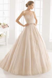 Zarte Farbtöne für Brautkleider 2016