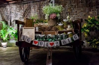 40 ideas de decoración de bodas al aire libre 2017. ¡Ideas para imponer en tu celebración!