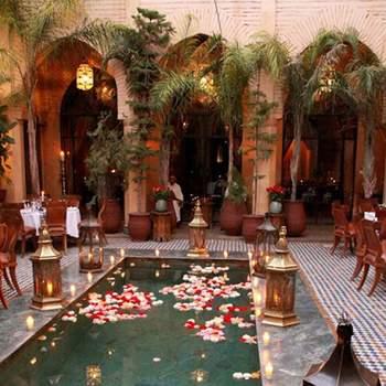 Une noce inspirée du Maroc ? Quelques idées lumineuses pour votre mariage avec ces magnifiques photos !