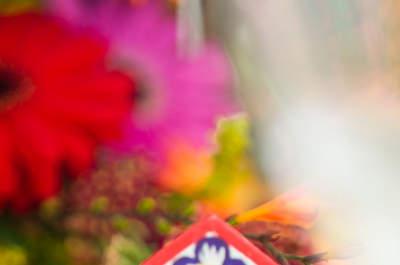 Una decoración de boda al puro estilo andino