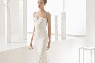 Vestidos de novia con encaje 2017: un diseño refinado para el día más especial