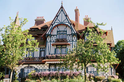 Un mariage à Deauville : Shooting d'inspiration à la Villa Strassburger