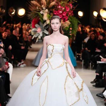 Descubre las 22 novias de ensueño de la Alta Costura de París. ¡Bellísimas!