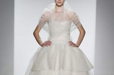 Amsale Bridal Collection Spring/Summer 2014
