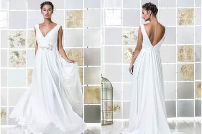 Vestidos de novia para mujeres bajitas 2017. ¡42 diseños que te dejarán boquiabierta!