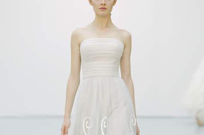 Hannibal Laguna primavera 2016: Vestidos de novia que te harán sentir como una estrella de cine