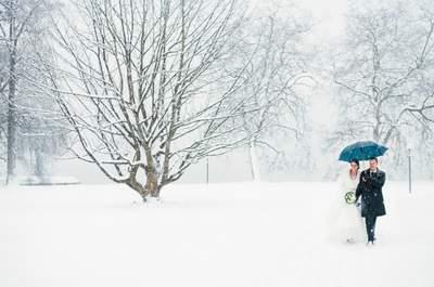 Ihre Hochzeit im Schnee – Perfekte Inspirationen für Ihre Winterhochzeit 2016!