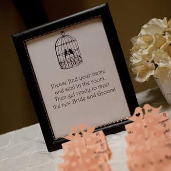 Vogeldeko als Leitthema Ihrer Hochzeit: Verzaubern Sie Ihre Gäste auf gekonnte Art und Weise!