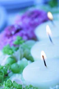 Bougies pour le mariage