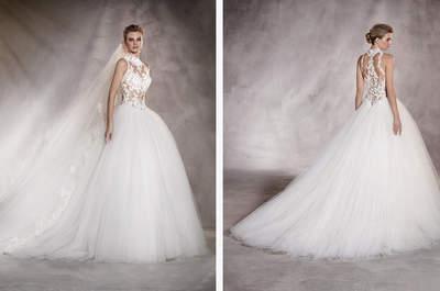 20 atemberaubende Brautkleider 2017 von Pronovias, in denen Sie bestimmt heiraten würden!
