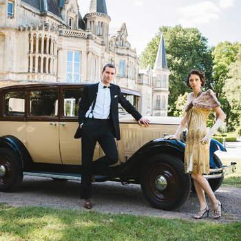 La mejor boda inspirada en el estilo Great Gatsby: ¡Pon atención a todos los detalles!