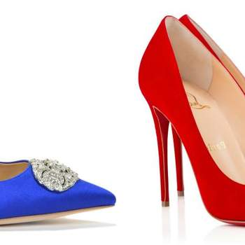 Make a bridal colour statement at your 2016 wedding with these colourful duo's