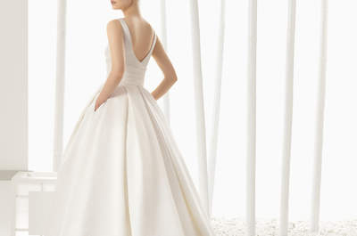 Vestidos de novia Rosa Clará 2016: personalidad y mucho estilo