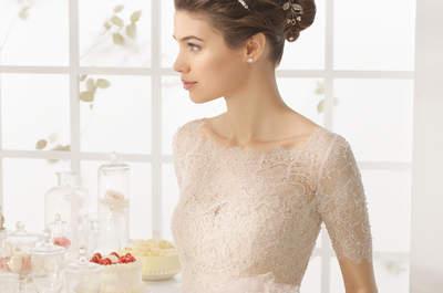 Ihr farbenfrohes Brautkleid 2016: Unsere liebsten Träume in Blau, Rosa, Gold…