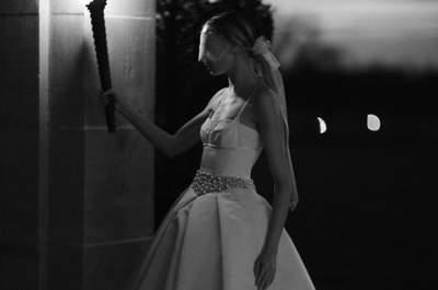Impresionantes vestidos de novia Vera Wang 2017: viste un diseño de inspiración boudoir el día de tu boda