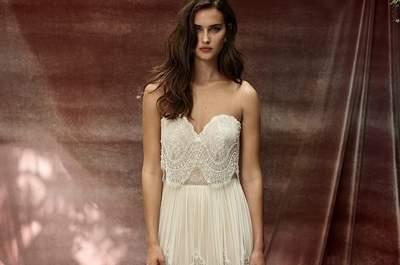 Los vestidos de novia más románticos para decir