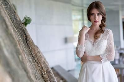 Vestidos de noiva de corte princesa 2017: 60 modelos extraordinários que não vai querer deixar escapar!