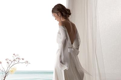 Abiti da sposa Le Spose di Giò 2016: tocchi hippie per vere ninfe moderne