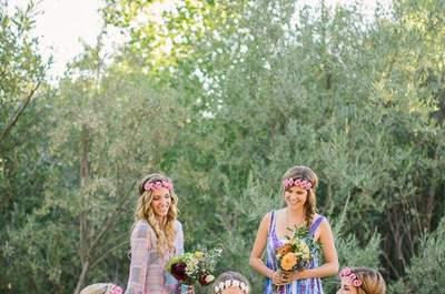So sieht das perfekte Styling für die Brautjungfern und Trauzeugin 2015 aus!