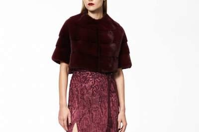 Vestidos de festa coloridos e estampados maravilhosos Monique Lhuillier Pre Fall 2015