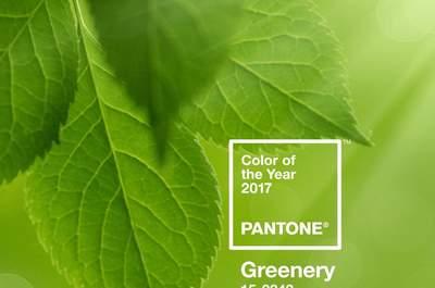 Color Pantone 2017, Greenery: Un tono fresco y vivo