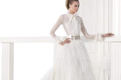 Vestidos de novia estilo princesa: consigue una cintura muy marcada