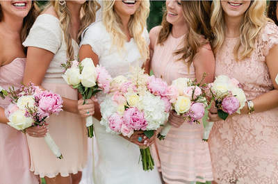 Pastel Hues for your Bridesmaids
