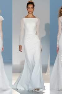 Brautkleider im Meerjungfrauen-Stil 2015