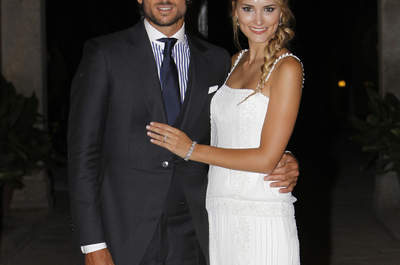 ¡Feliciano López y Alba Carrillo se han casado! Te contamos todos los detalles de su boda