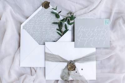Красивые внесезонные свадебные приглашения: оригинально и стильно!