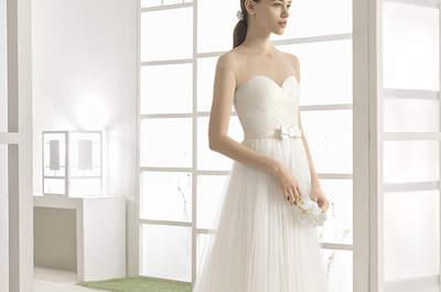 Vestidos de novia corte A 2017: un clásico perfecto para todas