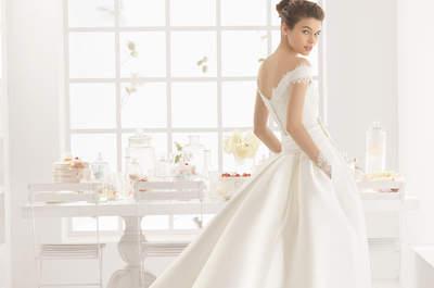 Vestidos de noiva Aire Barcelona 2016: distinção e exclusividade