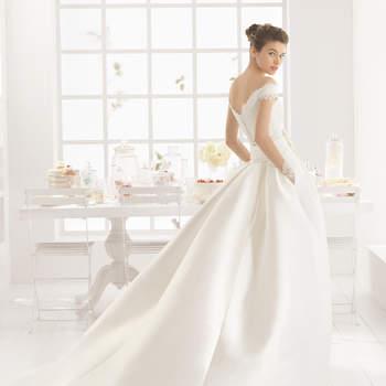 Brautkleider von Aire Barcelona 2016: Extravaganz und Stilsicherheit für den großen Tag!