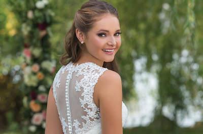 Amarás los vestidos de novia Sweetheart otoño-invierno 2016-2017: Una oda a la dulzura y la magia