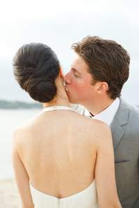 Low Buns and Up Dos for Brides