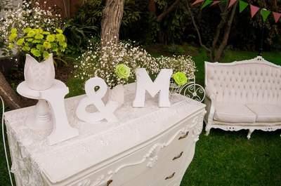 Decoración de sillas de boda 2017. ¡Encuentra estilos con encanto!