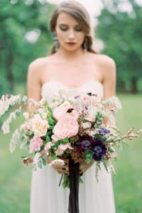 Estilos de bouquet de novia 2017