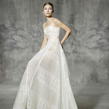 YolanCris Spring 2016 Bridal Collection: Elegant Silhouettes