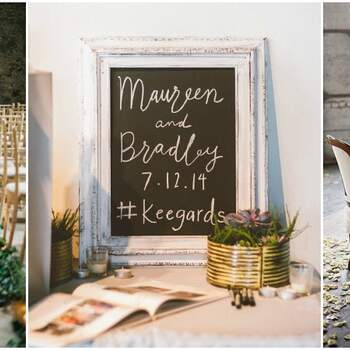 Industrial Chic Decor: Original Ideas for Your 2017 Wedding