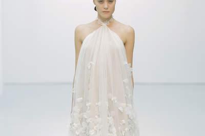 Vestidos de novia Hannibal Laguna 2016: un glamour de cine