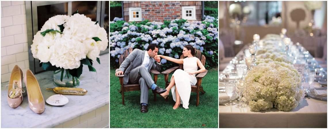 Bloemen zijn de meest elegante versiering op jouw bruiloft!